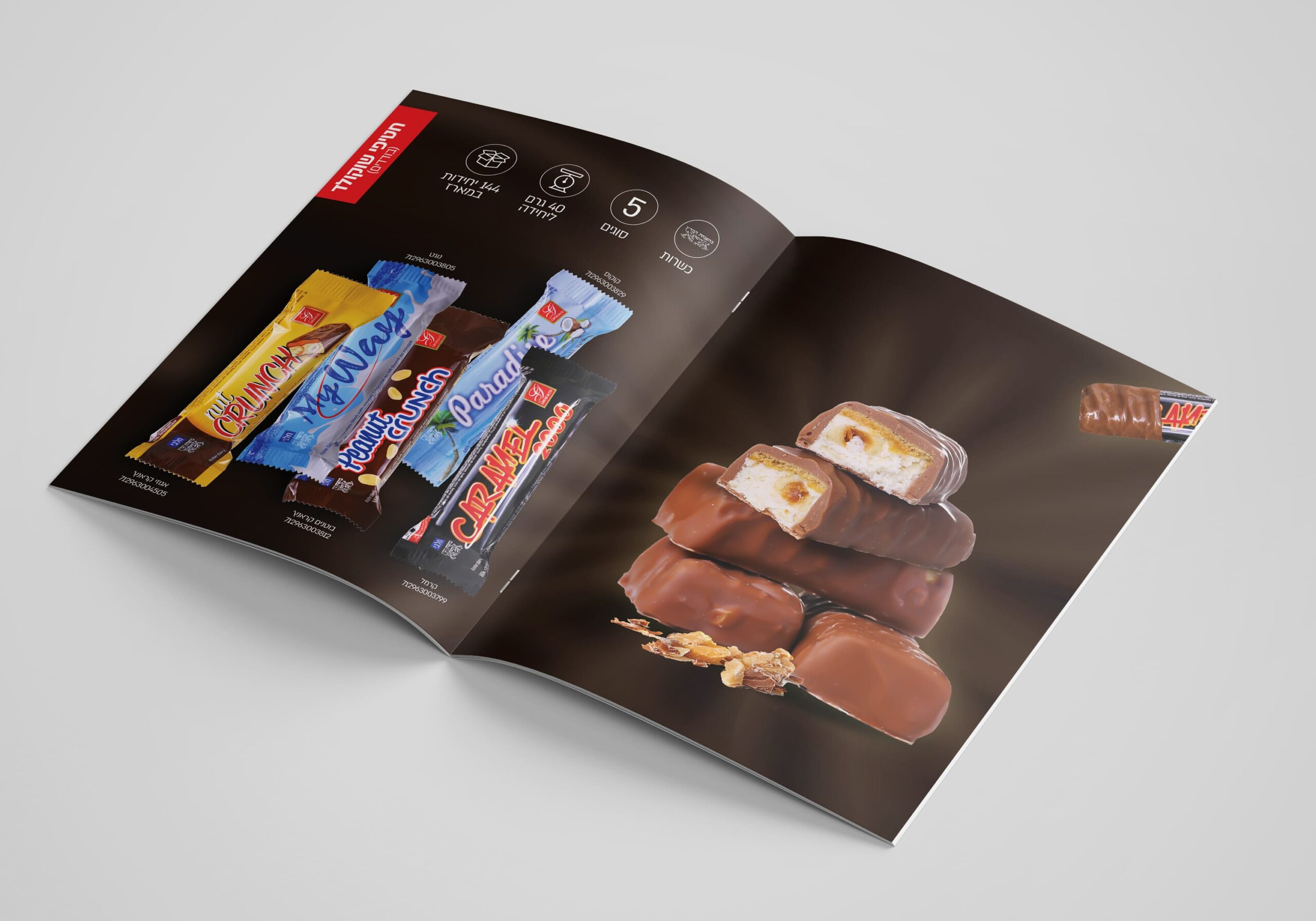 חטיפי שוקולד קטלוג שוקולד גרוס