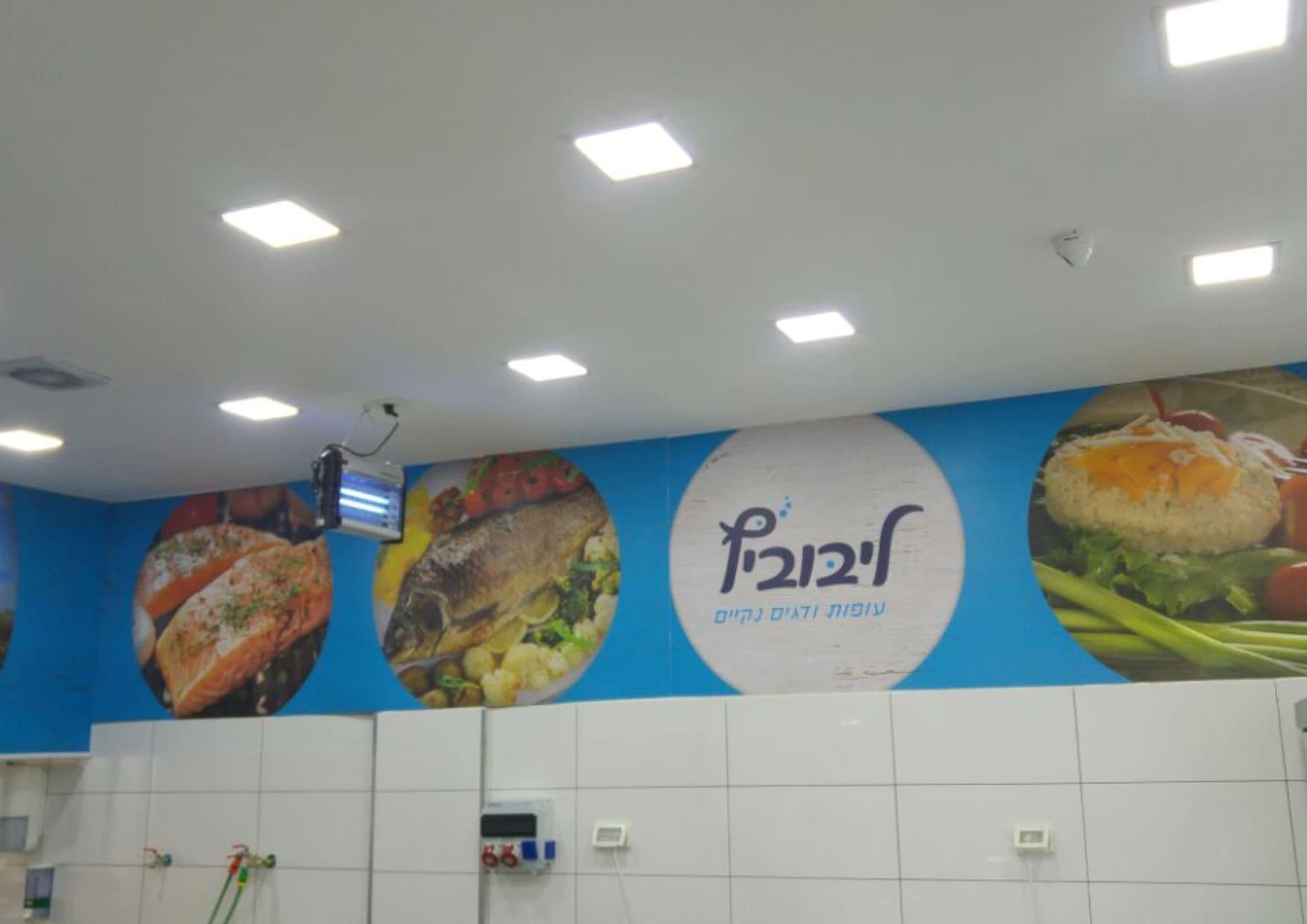 מיתוג פנים חנות ליבוביץ דגים (2)