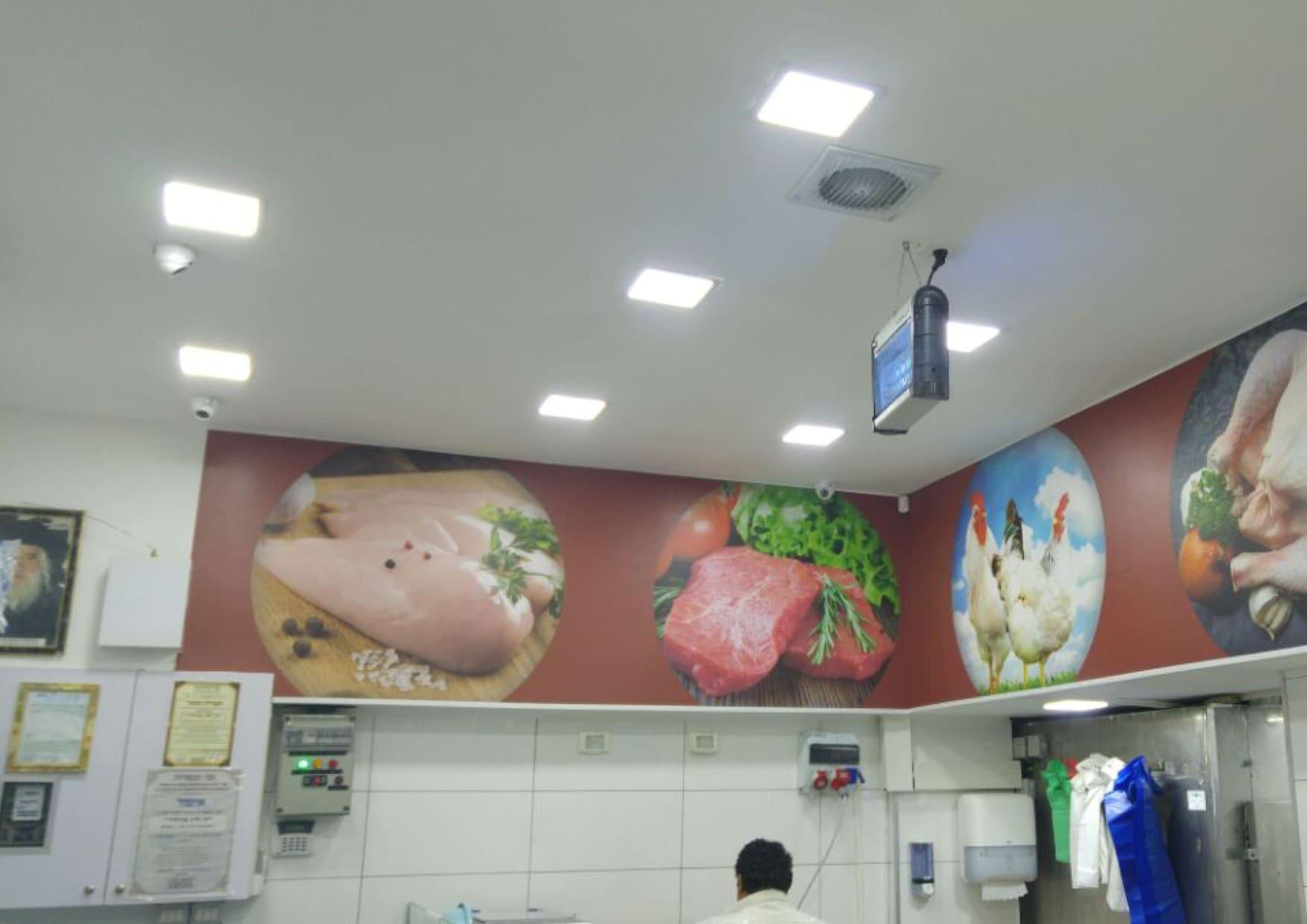 מיתוג פנים חנות ליבוביץ דגים
